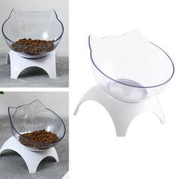 Cat Elevated Bowls Raised Food Feeder For Small Kitten Hamst