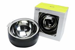 Stainless Steel Dog Cat Pet Bowl Modern  Non-Toxic Acrylic M
